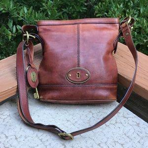 Fossil Vintage Leather Bag